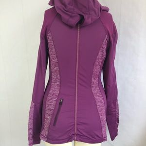 lululemon athletica Tops - Lululemon Run For Your Life Hooded Pullover Wrap